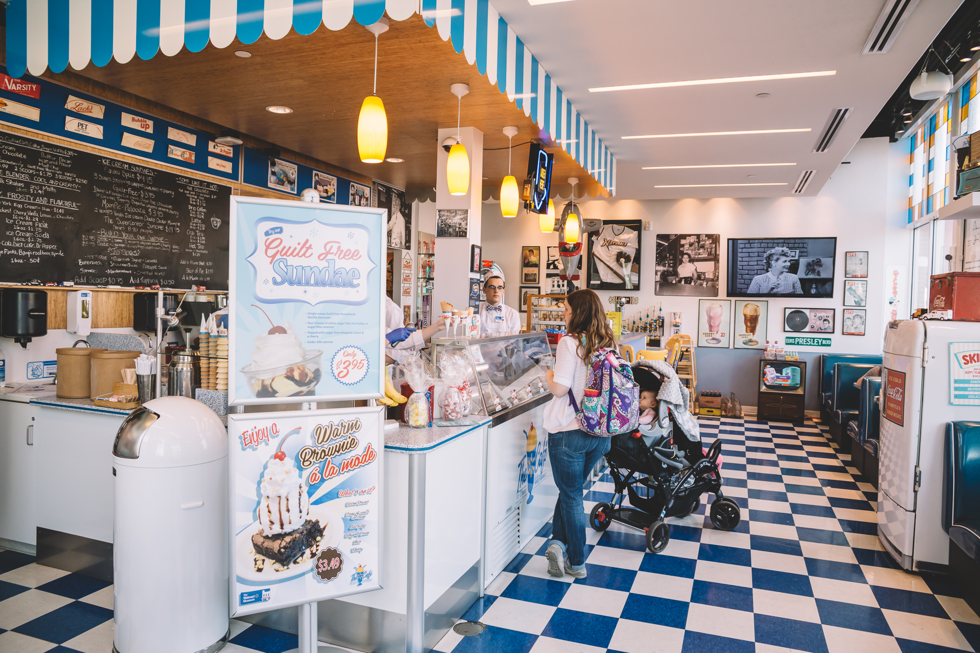Get $1 ice cream at the diner