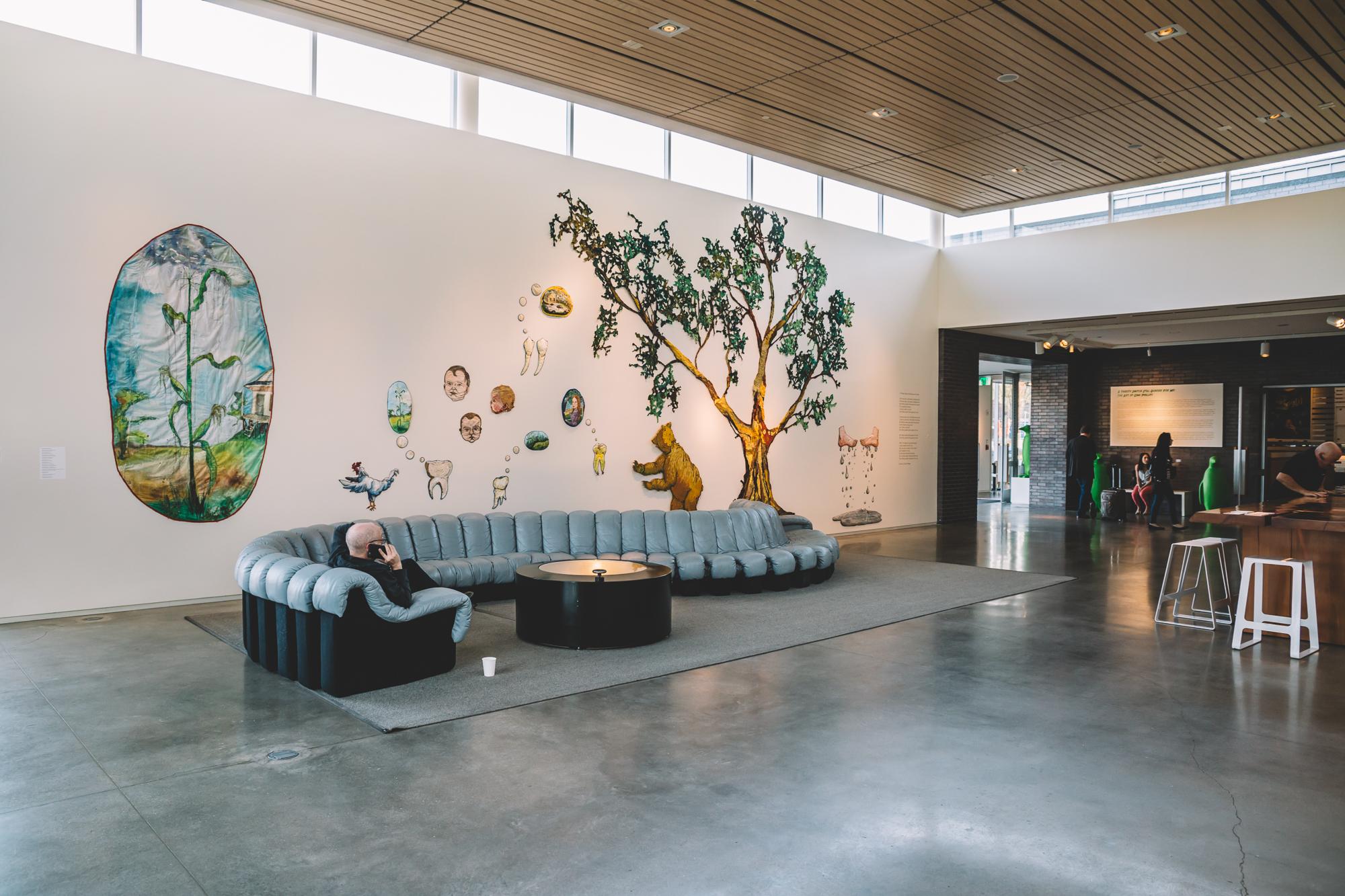21c lobby area