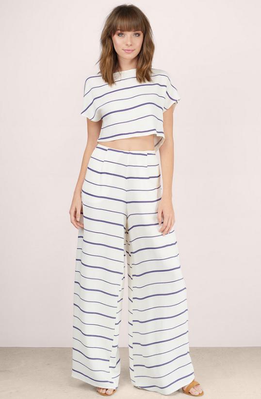 Kiely Striped Pants