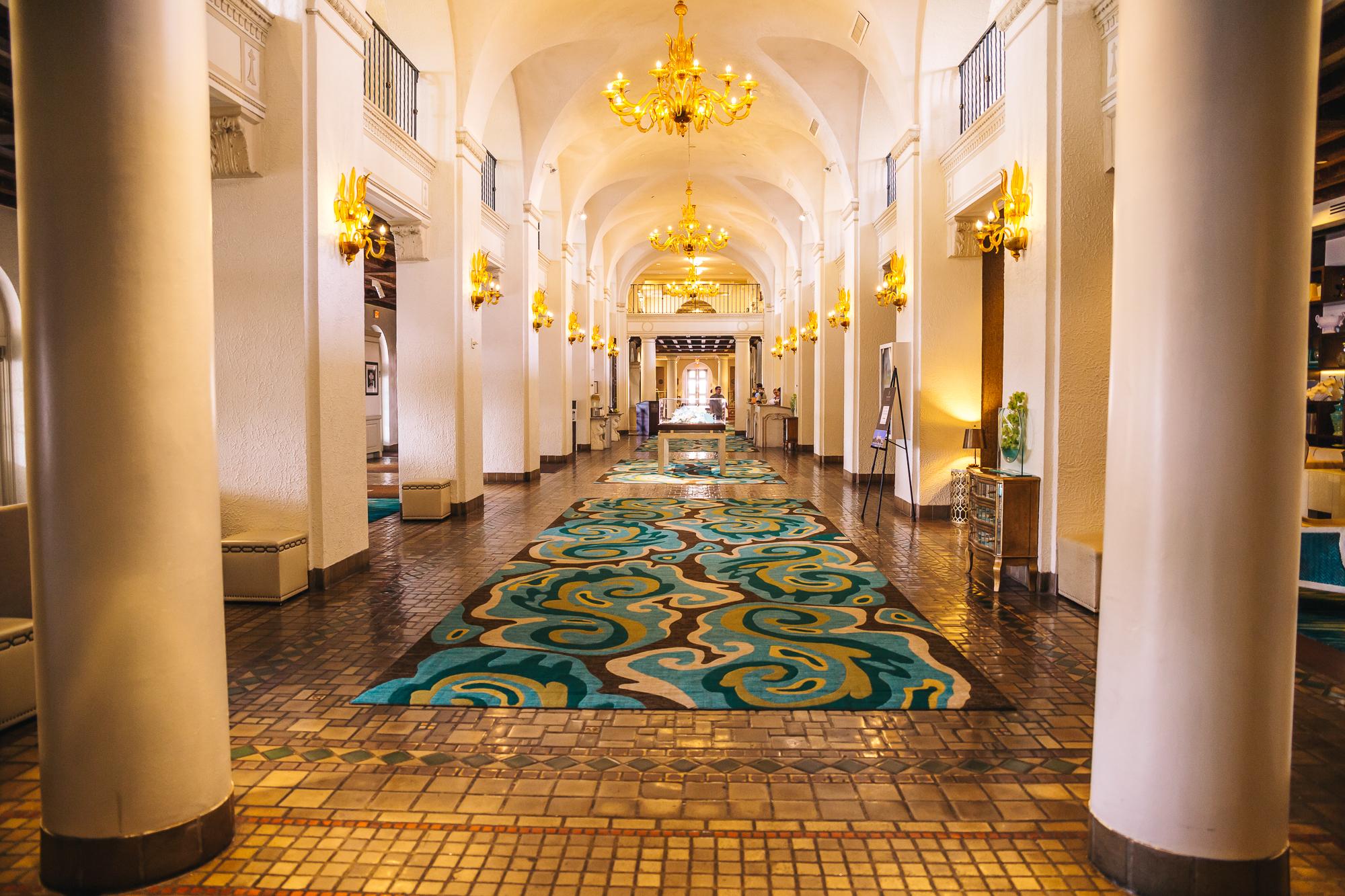 Vinoy Hotel lobby