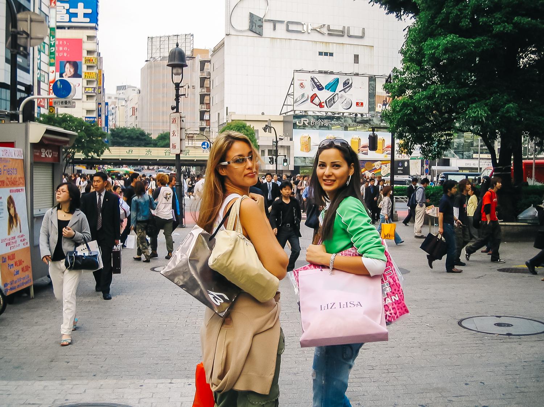 Lots of shopping in Shibuya