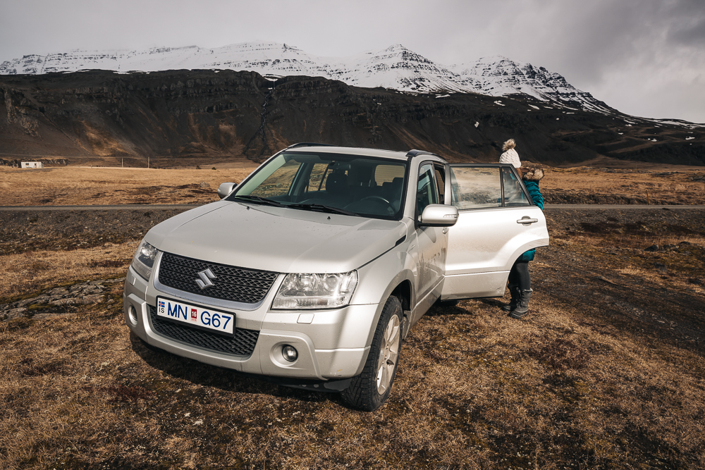 Our awesome 4WD rental