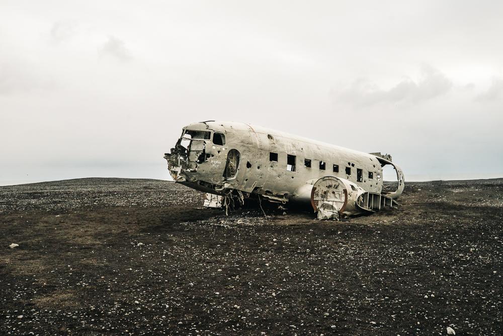 Solheimasandur plane wreckage