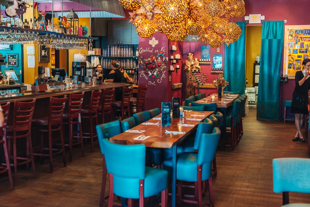 Vibrant and festive colors of Casa Tina