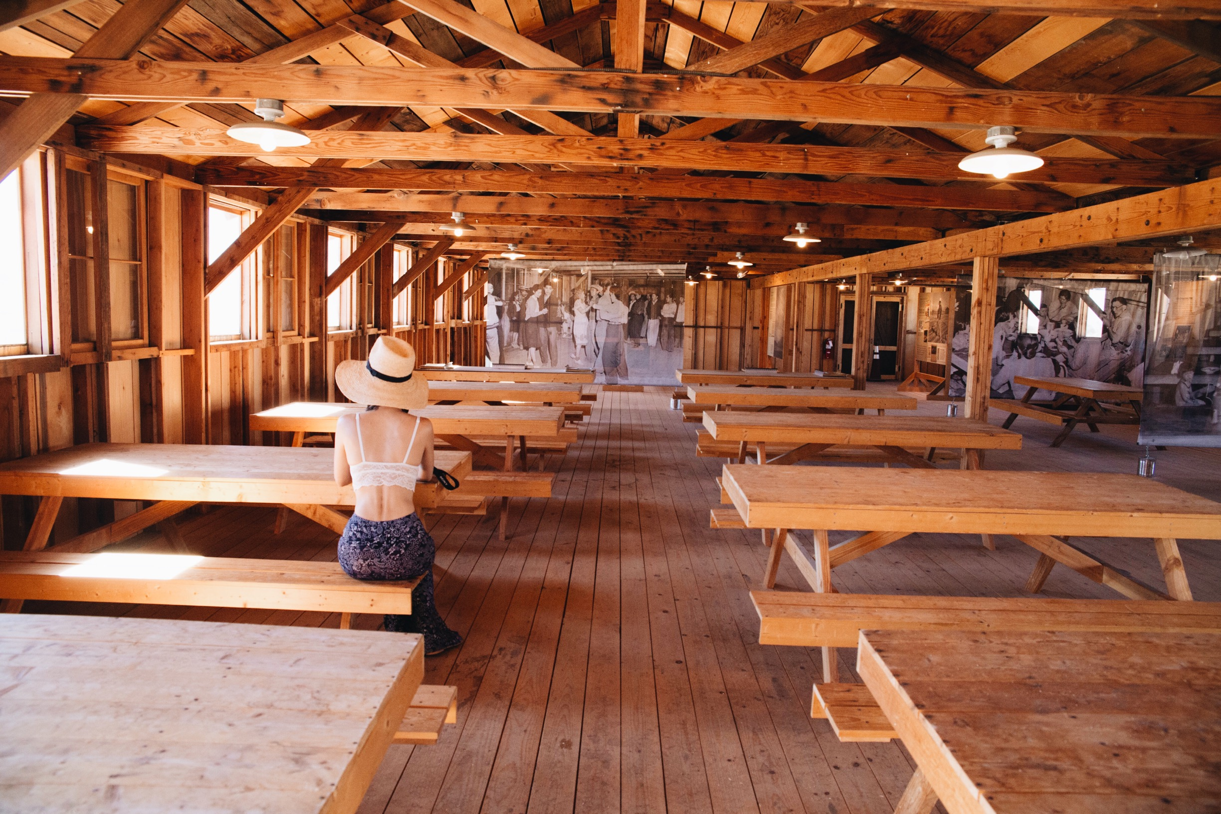 Inside the Mess Hall