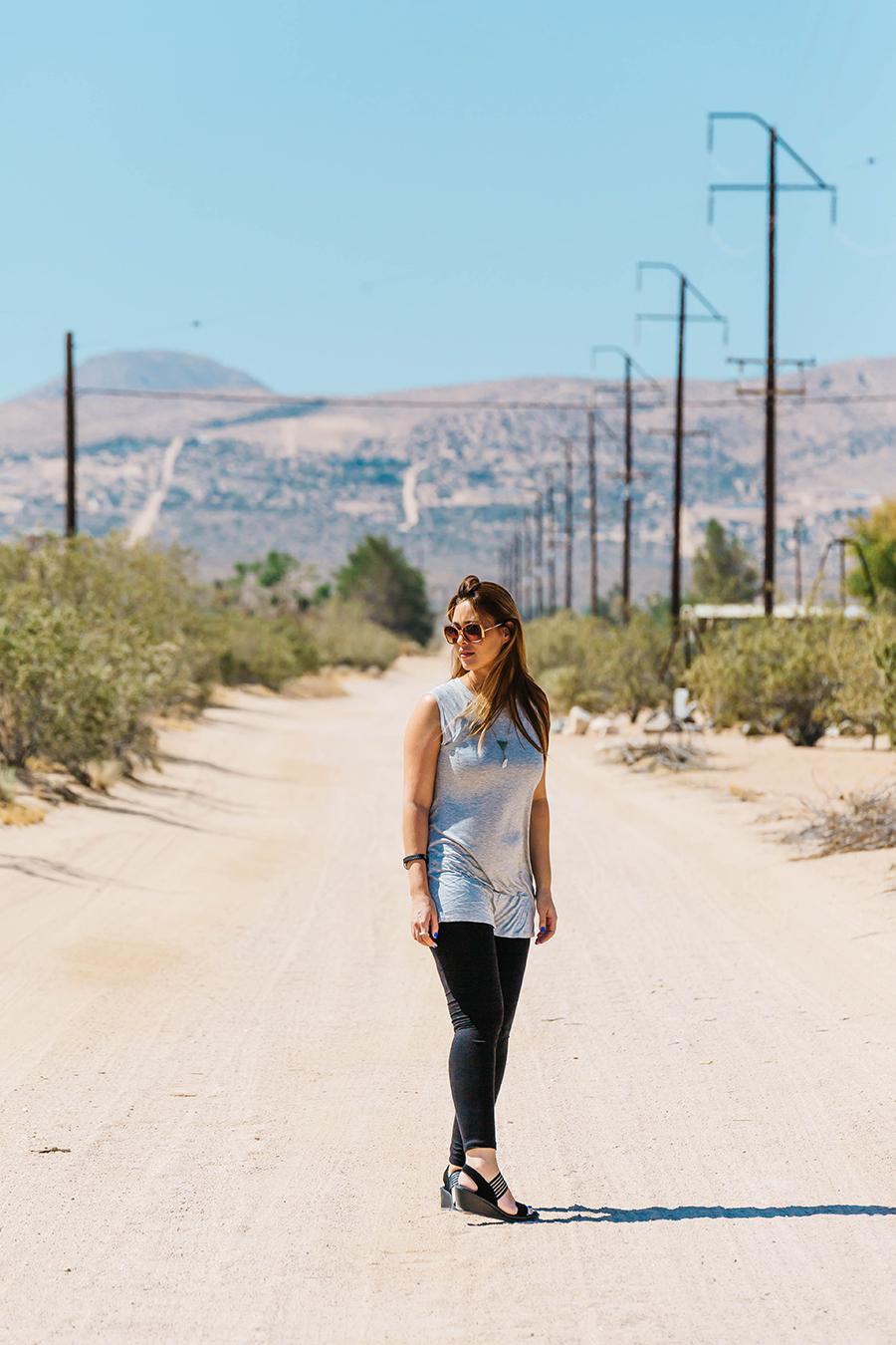 Desert town - Apple Valley