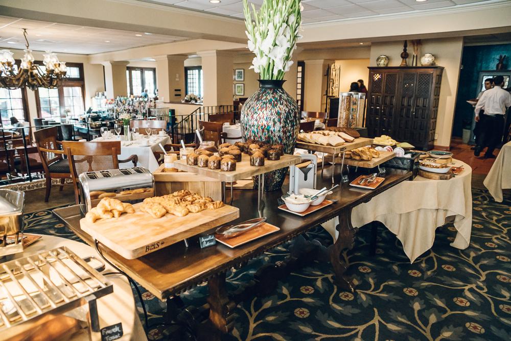Las Canarias breakfast buffet