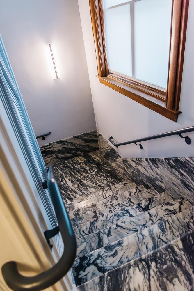 Original marble floors