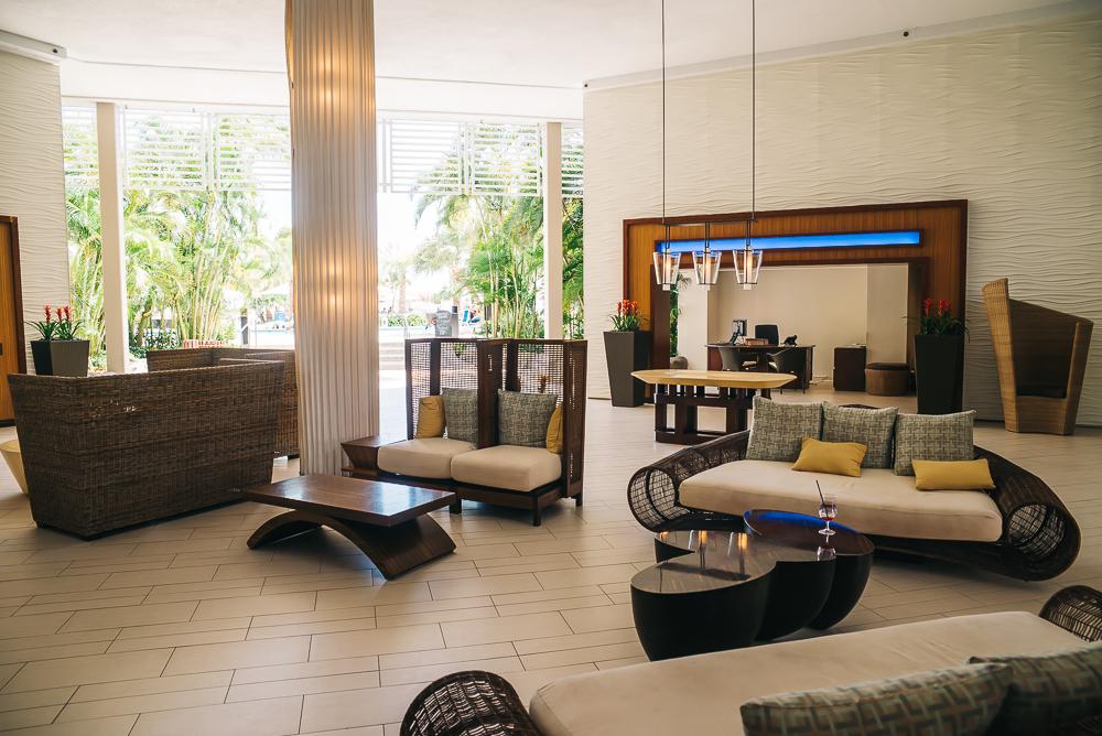 Aruba hotel lobby www.thetravelpockets.com