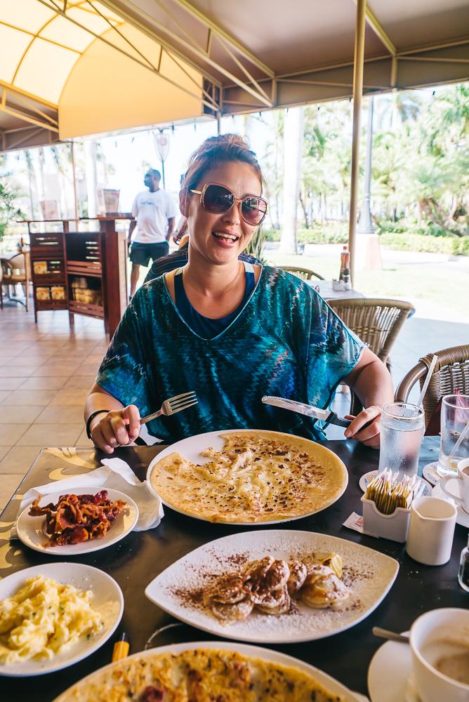 Aruba breakfast www.thetravelpockets.com
