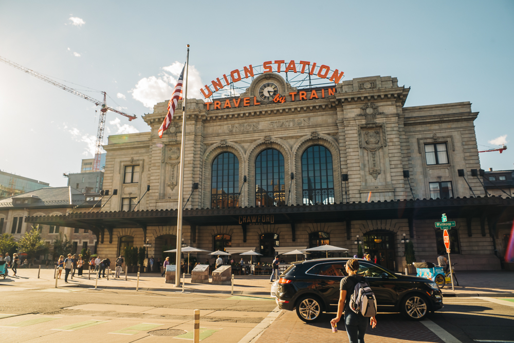 Union Station is full of great restaurants and shops