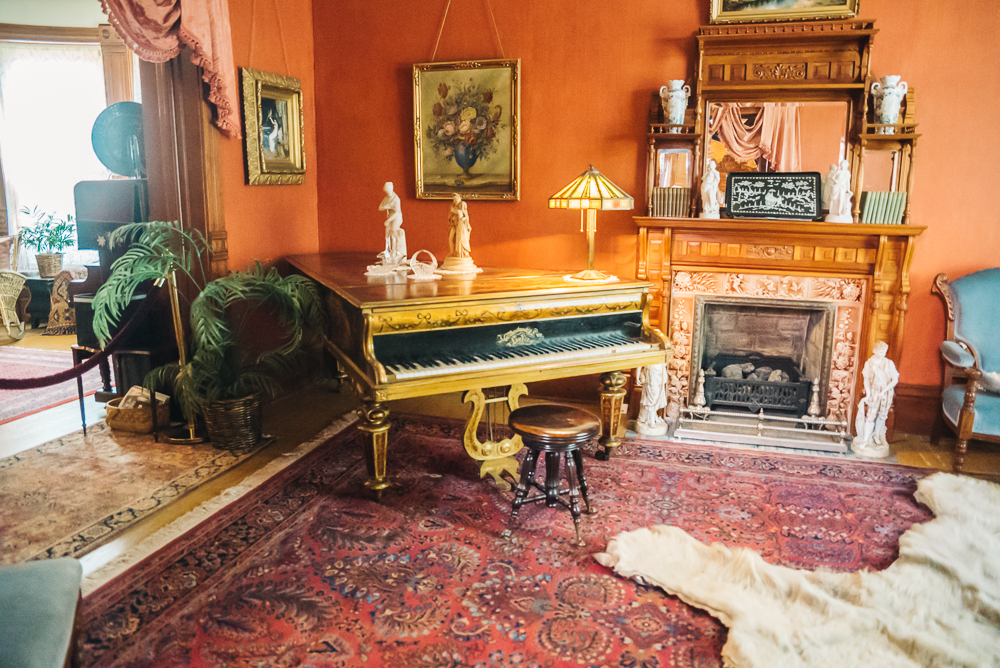 Inside the Molly Brown Museum house