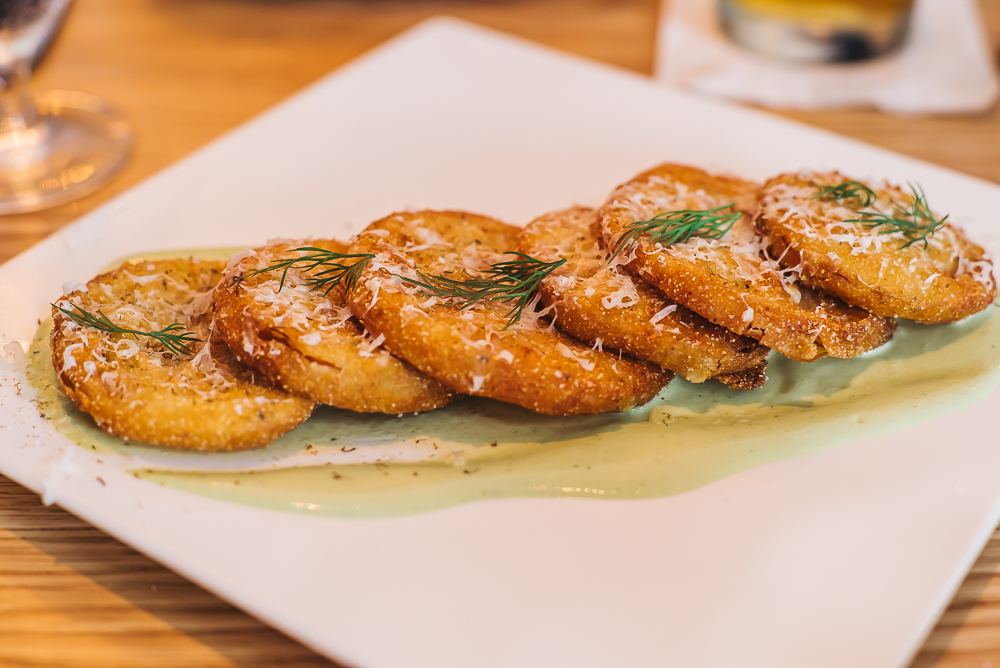 PLATE #2 FRIED GREEN TOMATOES