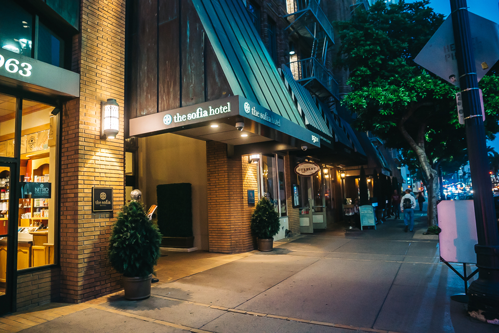 Sofia hotel entrance
