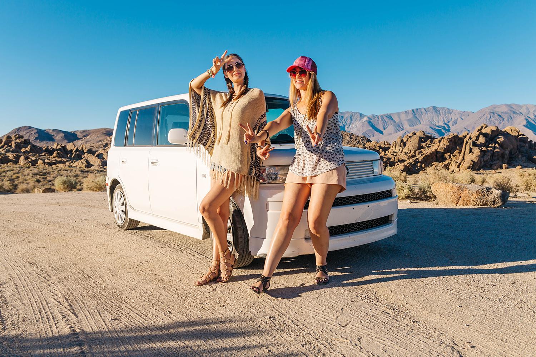 Our fun Cali road trip