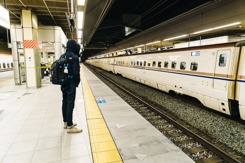 Catching the bullet train to Nagano