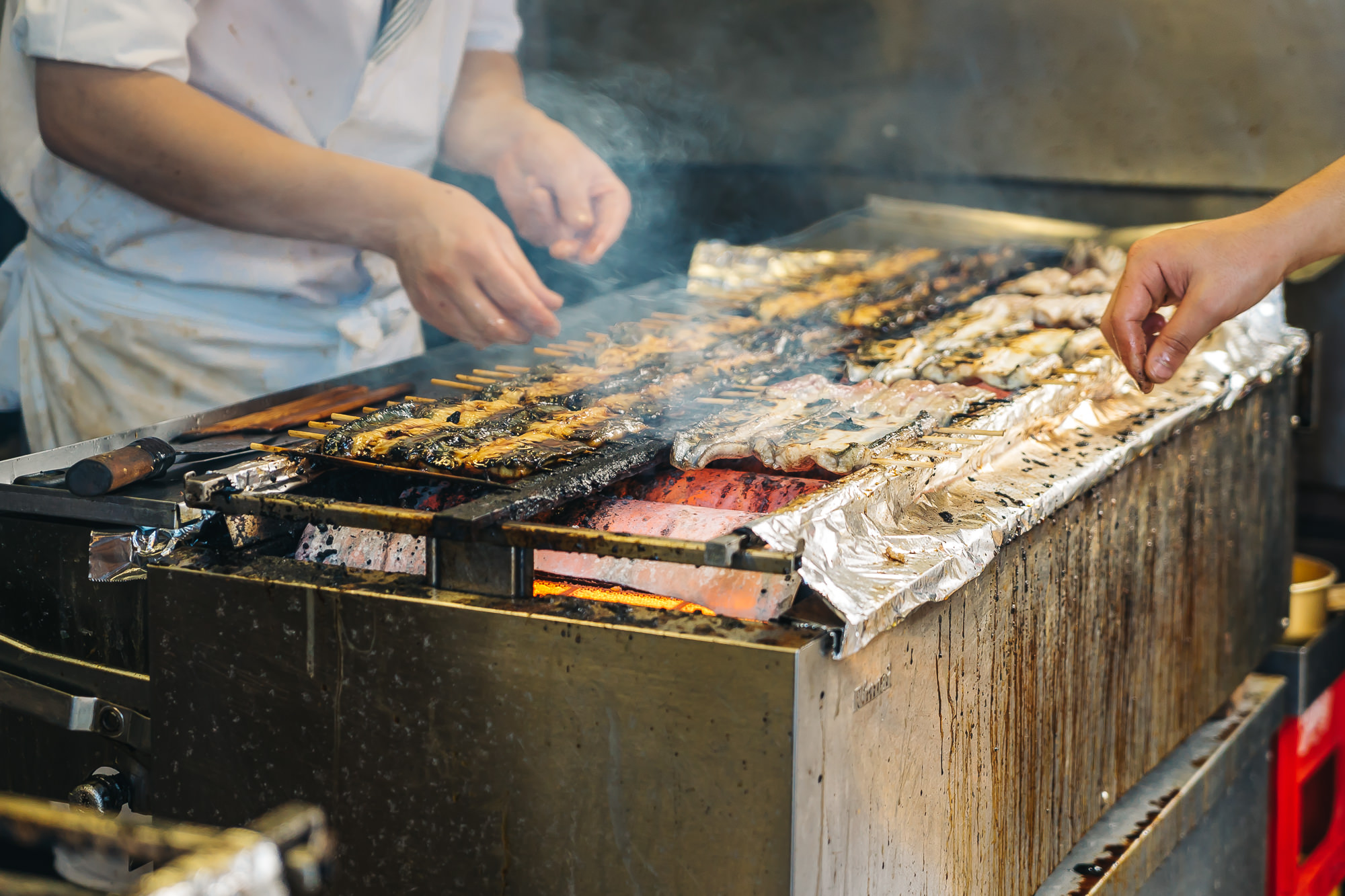 FRESH CHARGRILLED EEL