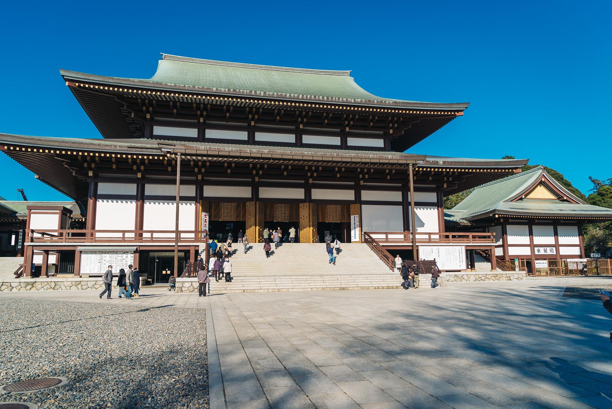 Narita Temple Great Main Hall