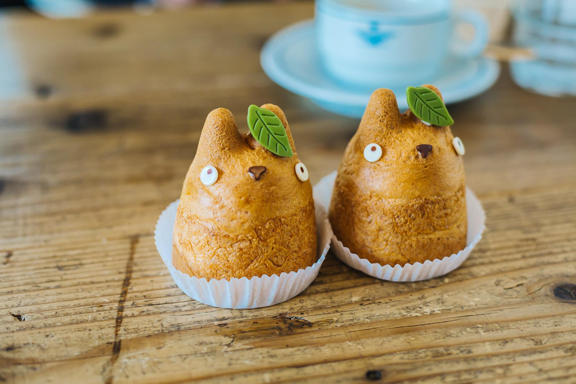 Totoro cream puffs - so cute!
