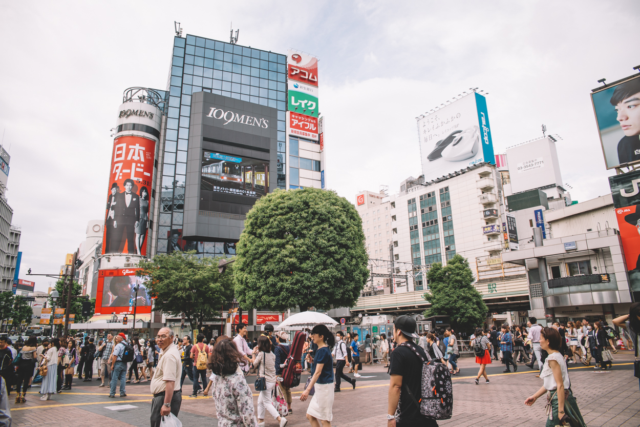 Shopping in Shibuya