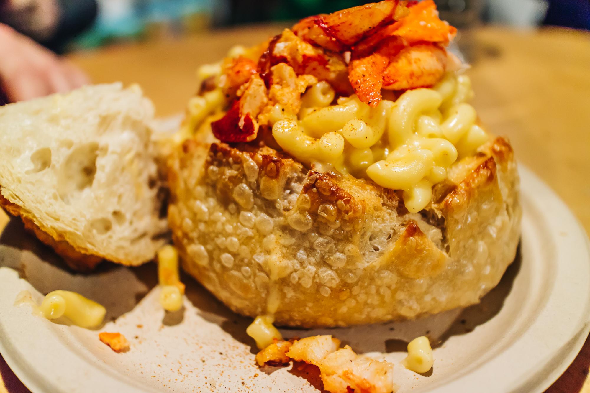LOBSTER MAC & CHEESE BOWL