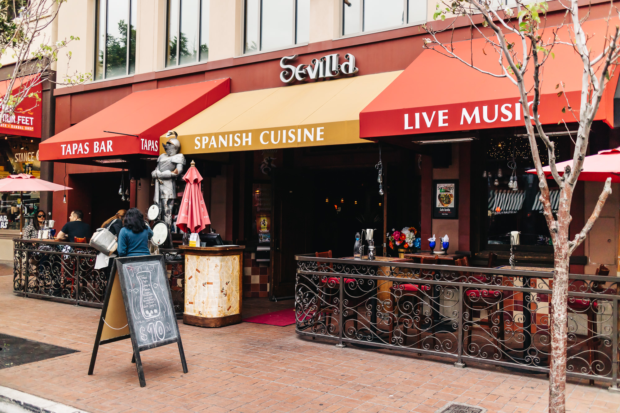 One Night In Spain At Cafe Sevilla San Diego California