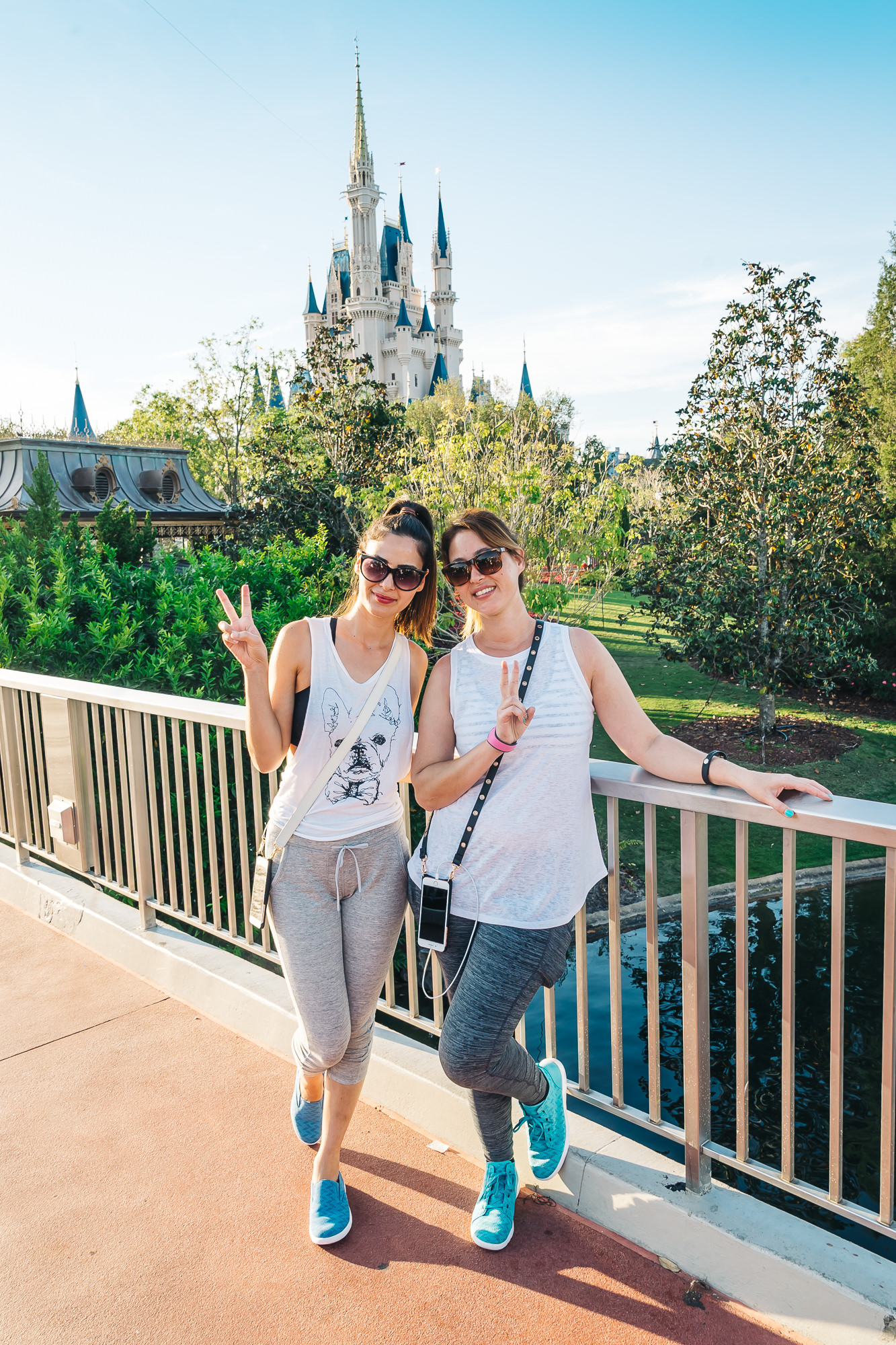 Tip: Have the Disney Photographers take pictures for you with your camera.