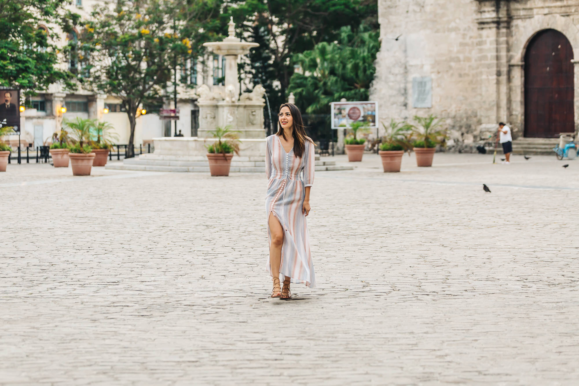 We took advantage of early mornings in Old Havana while the streets were empty