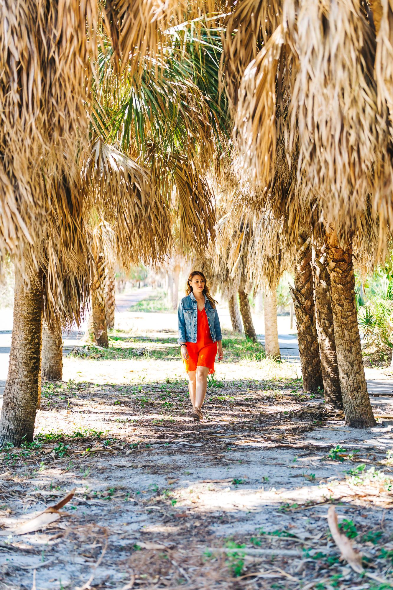 Exploring the trails of Egmont Key