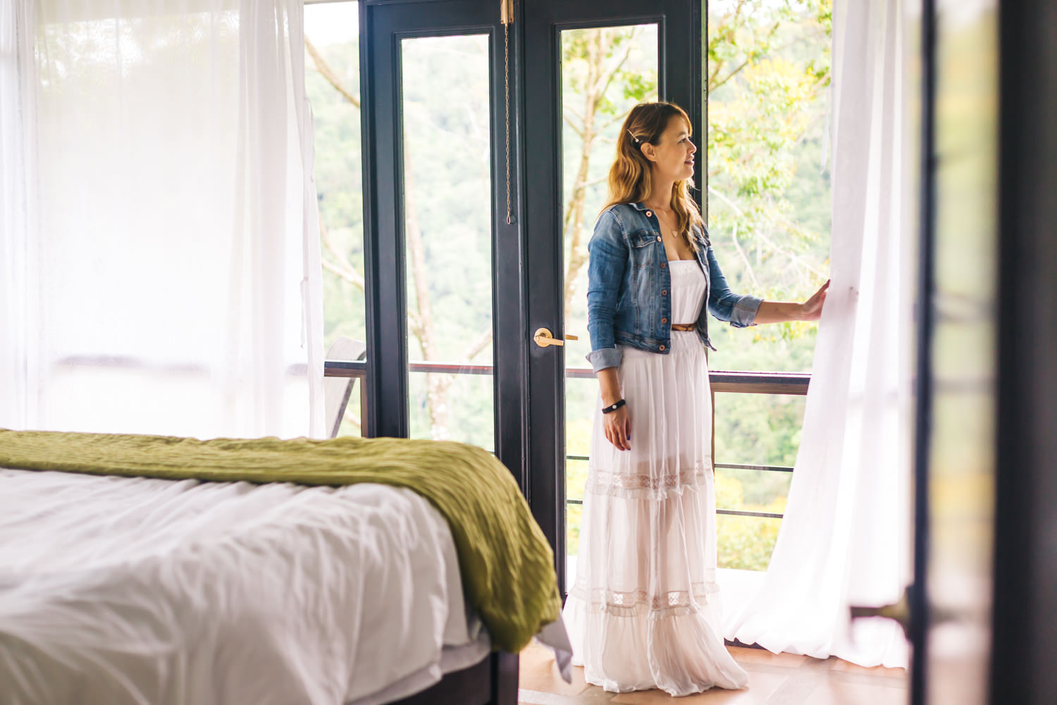 Large bedrooms with gorgeous views //Crystal's Dress-  Free People Simply Peasant Dress