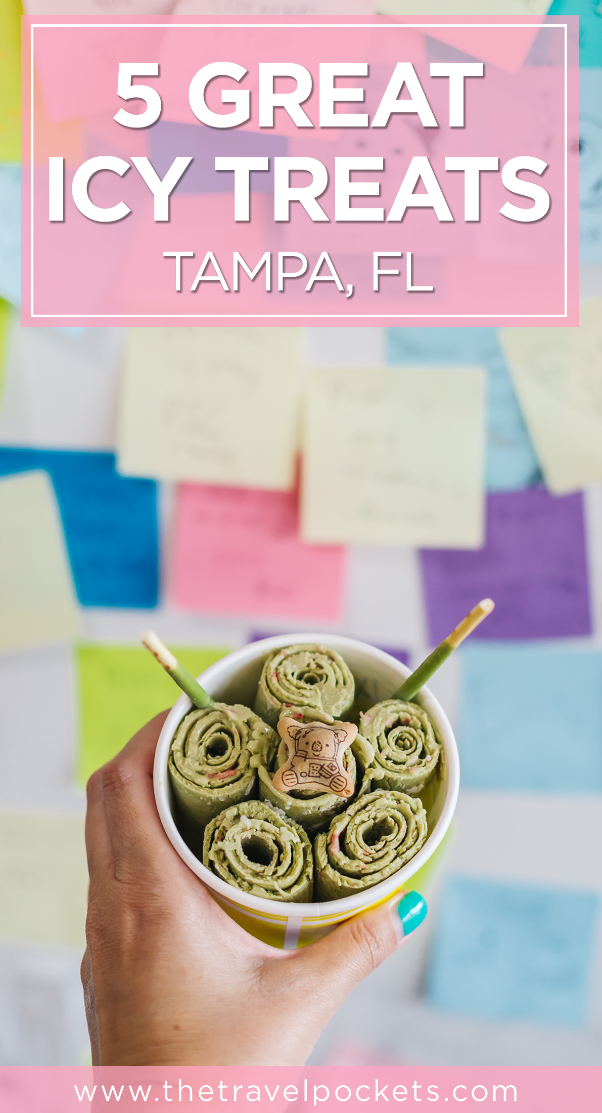 PINTEREST TAMPA ICY TREATS + www.thetravelpockets.com