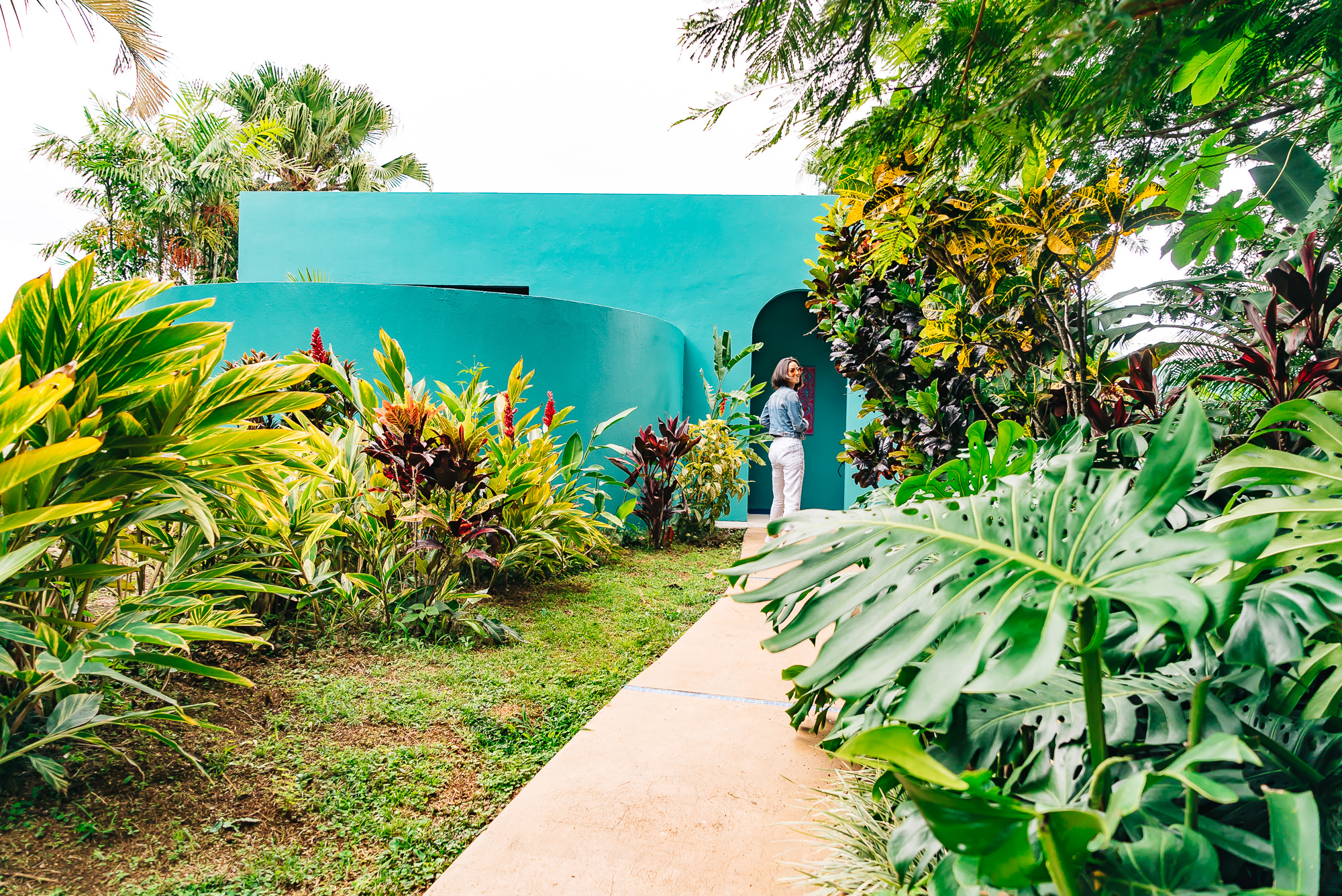 Our villa was surrounded by luscious greenery at   Xandari Resort and Spa