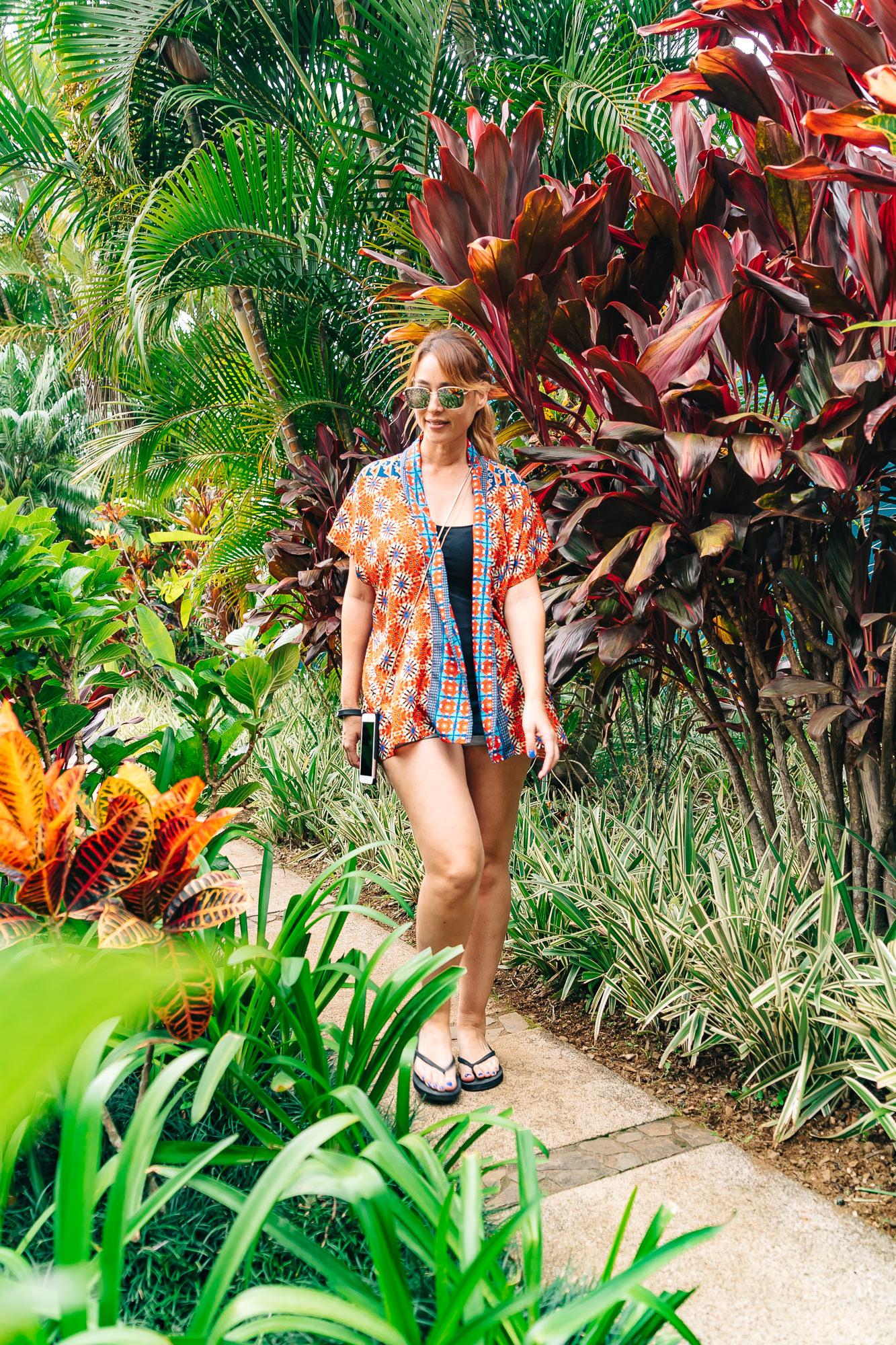 Colorful trails all around   Xandari Resort and Spa
