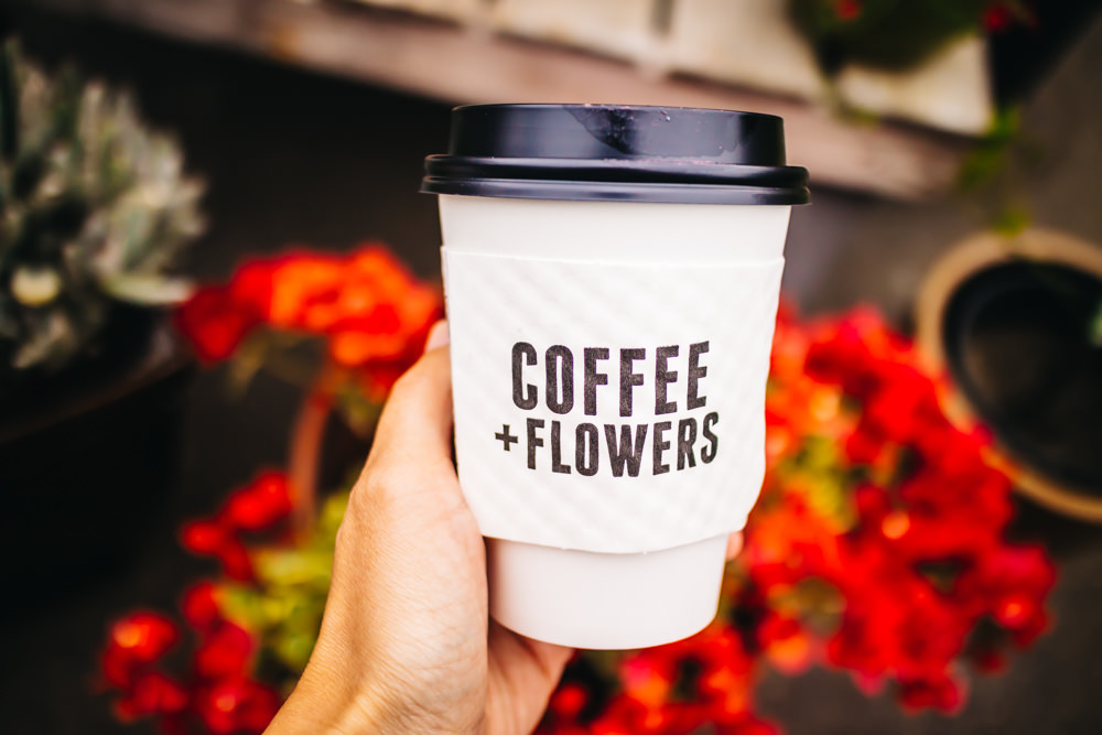 Coffee + Flowers in North Park, San Diego