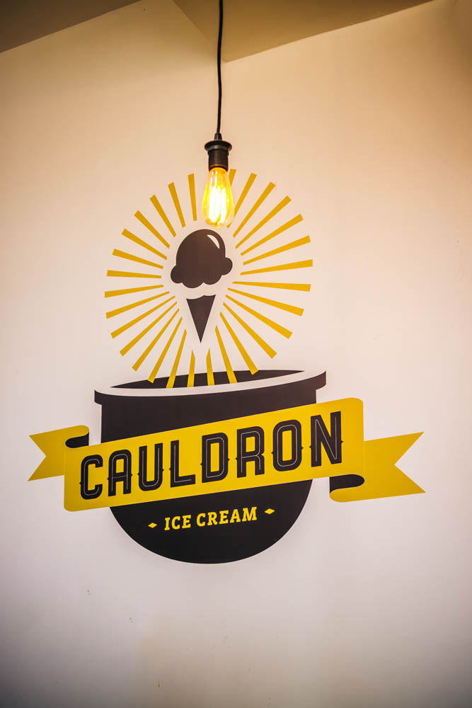 Cauldron's Liquid Nitrogen Ice Cream