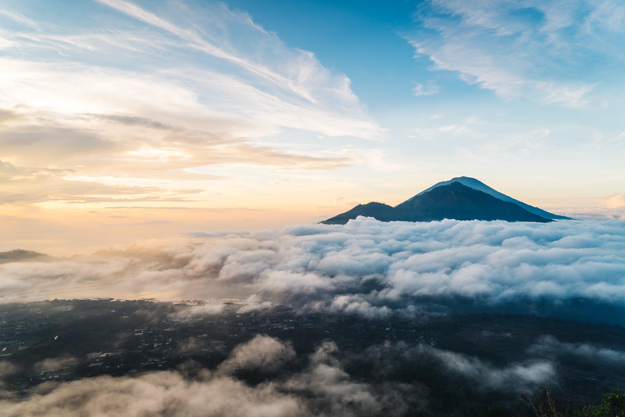Incredible views On top of Mount Batur