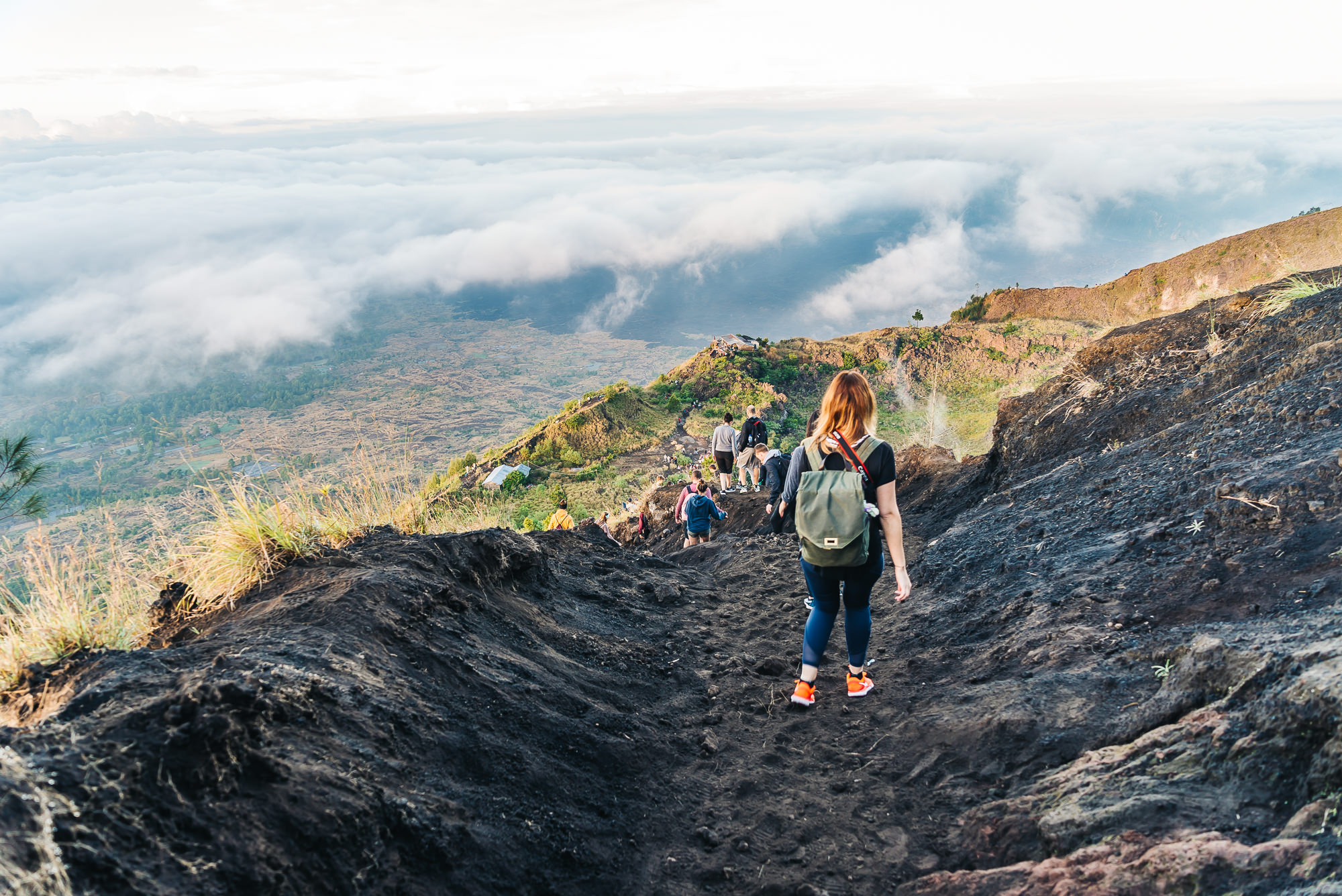 Going down Mount Batur was a bit tricky too as you had to get your grip on the loose dirt
