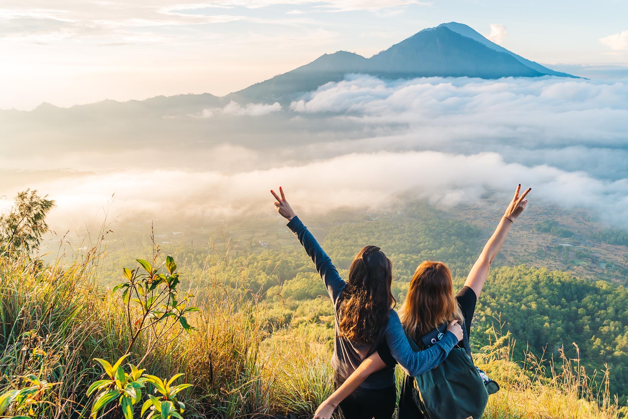 So proud we conquered Mount Batur