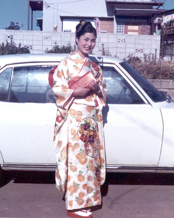 """OUR MOTHER DRESSED UP FOR """"COMING OF AGE DAY"""""""