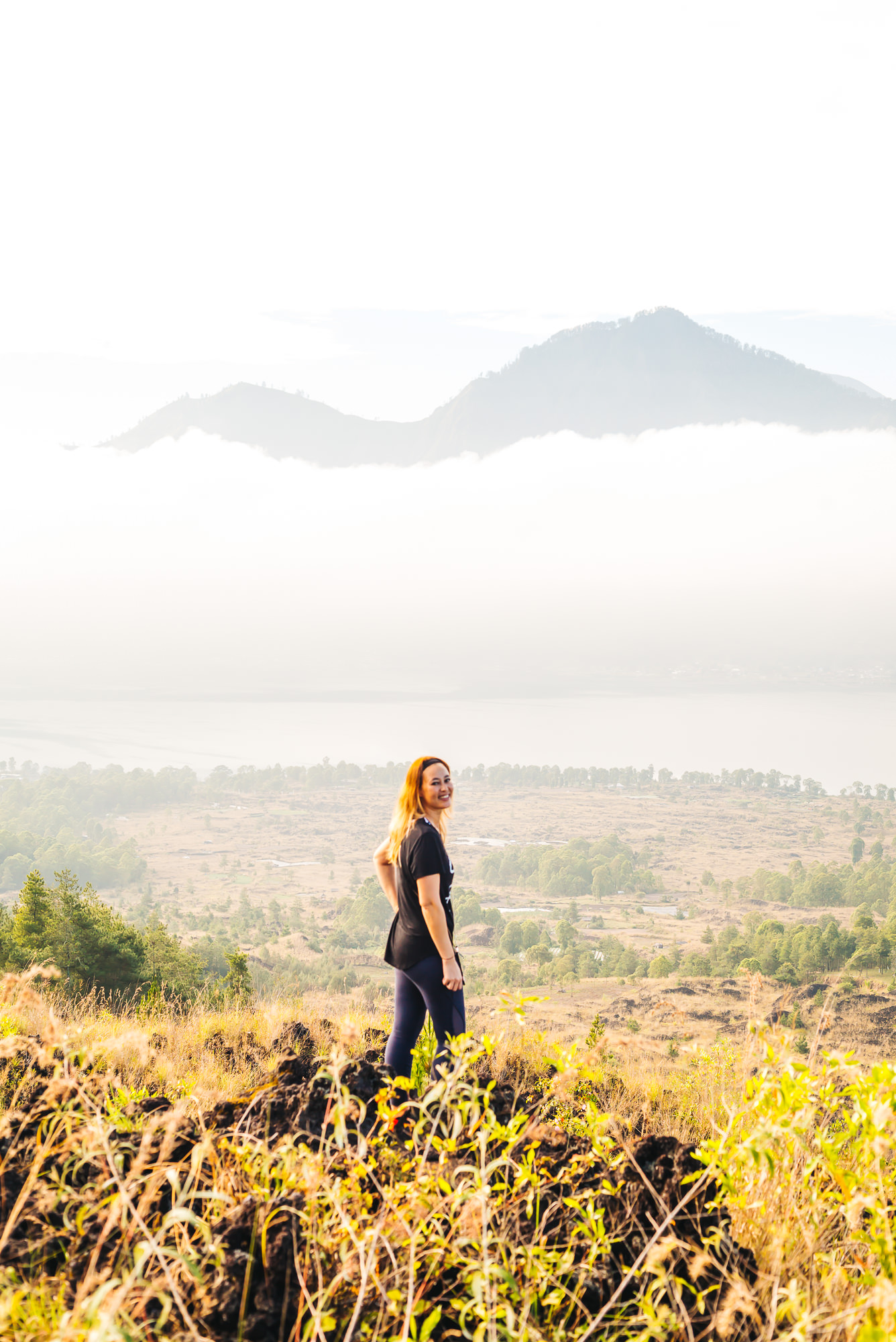 Hiking Mt Batur