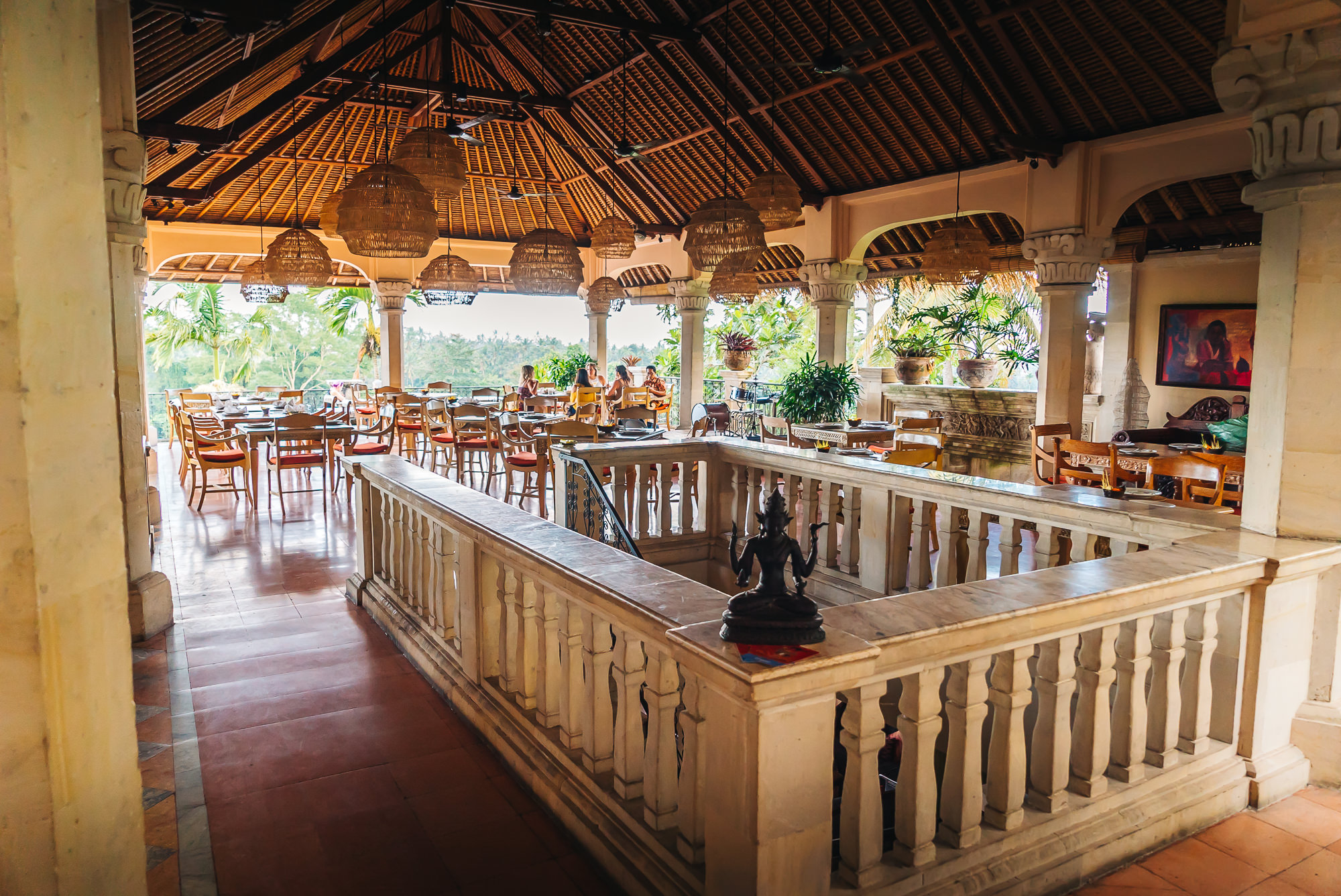 Beautiful restaurants everywhere in Ubud
