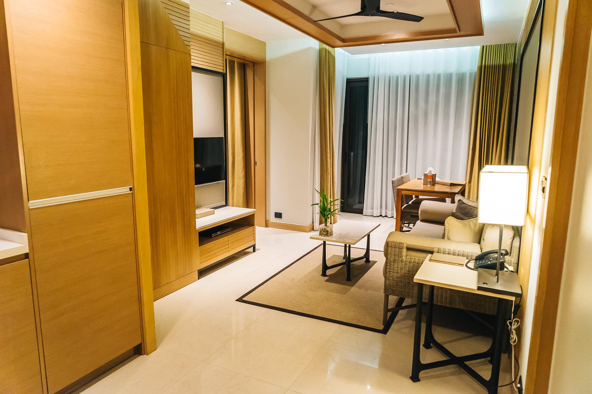 Amari Phuket One bedroom suite at the Ocean Wing