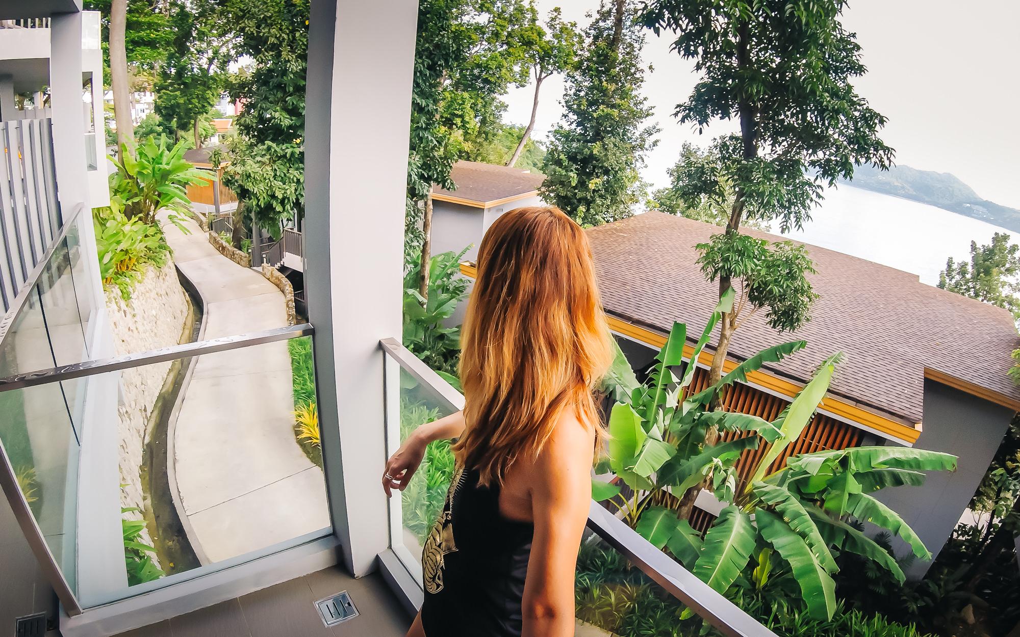 Large balcony at Amari Phuket's Ocean Wing suites