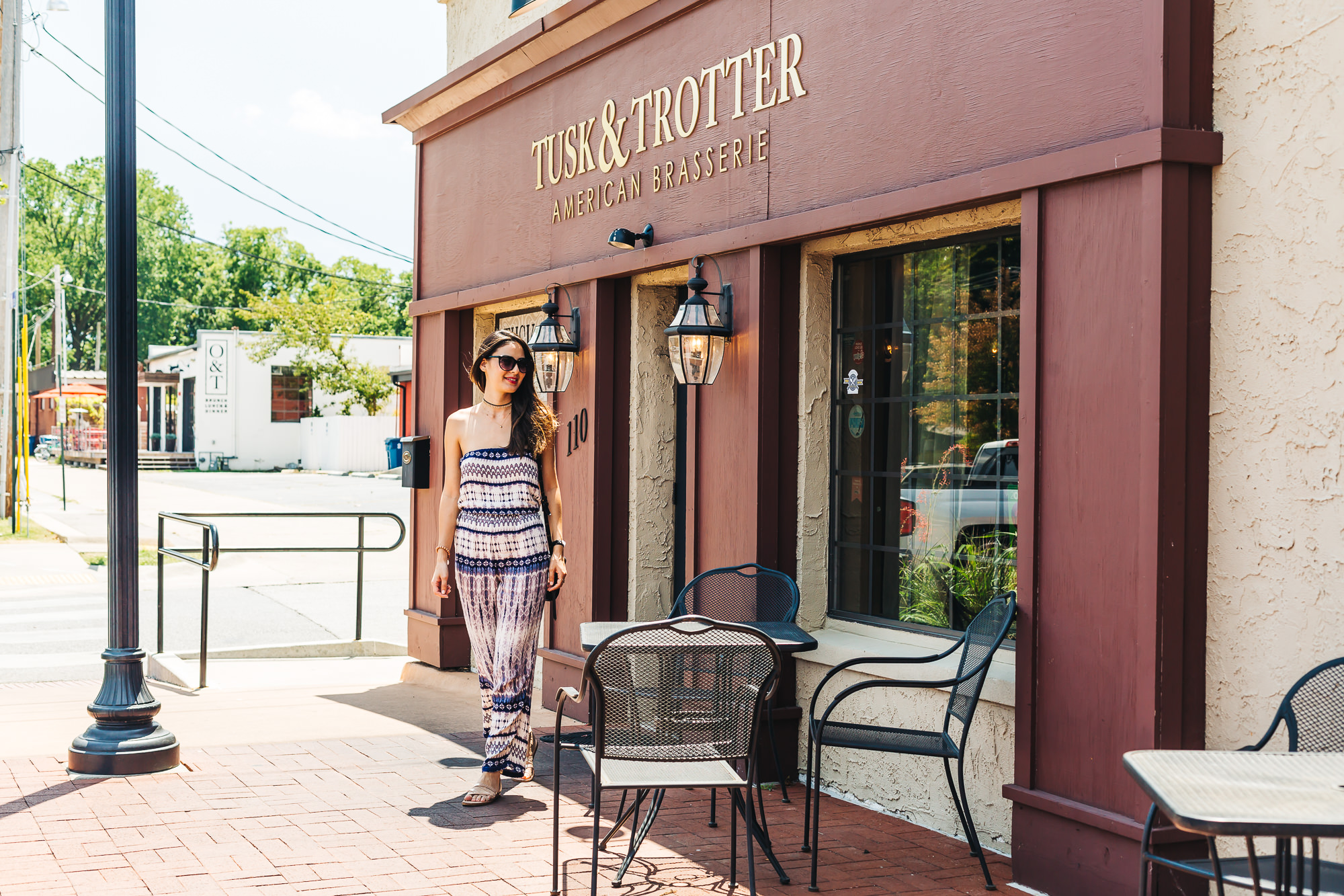 "Tusk and Trotter gastropub located right off ""the Square"" in Bentonville"