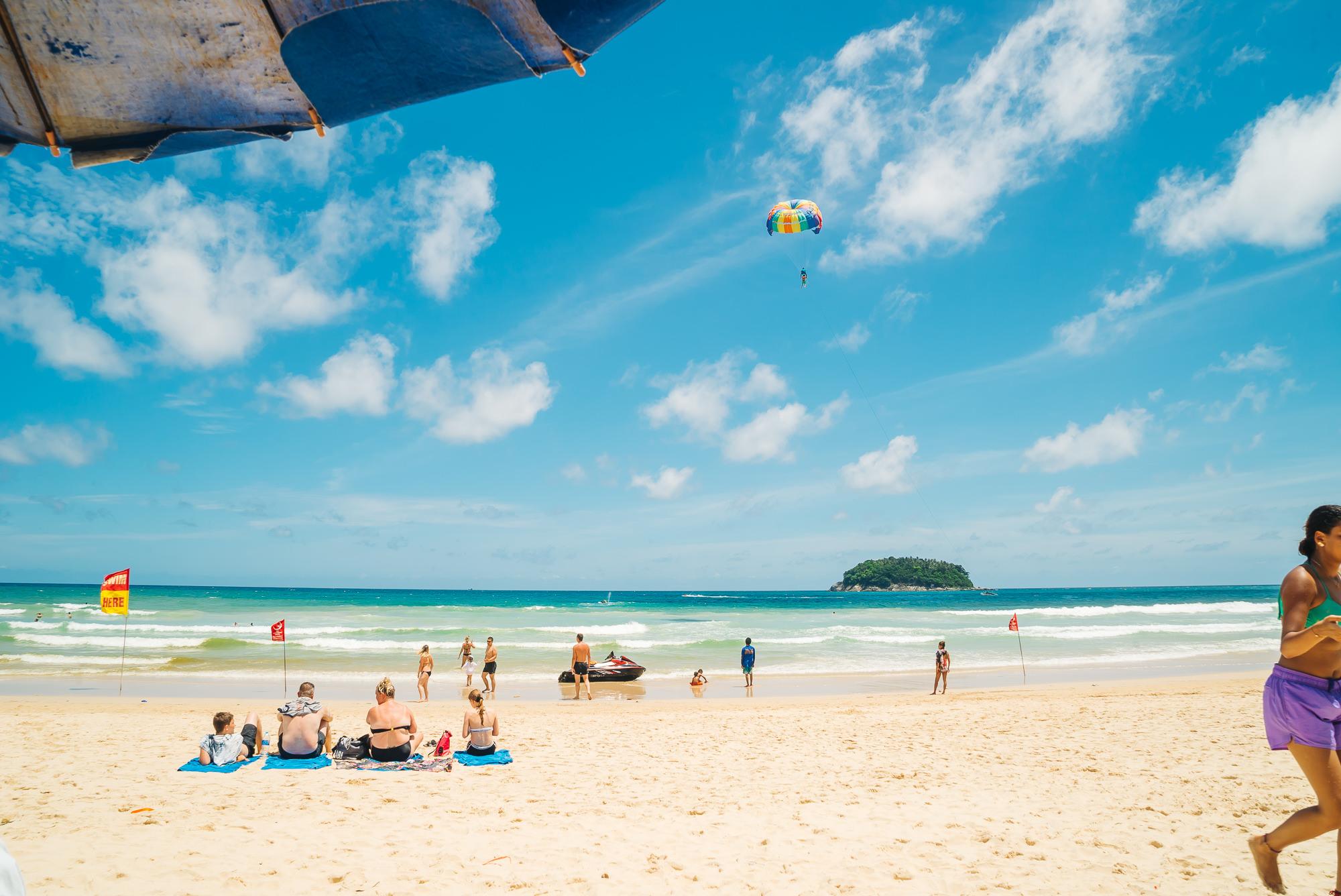 Kata Beach of Phuket Thailand