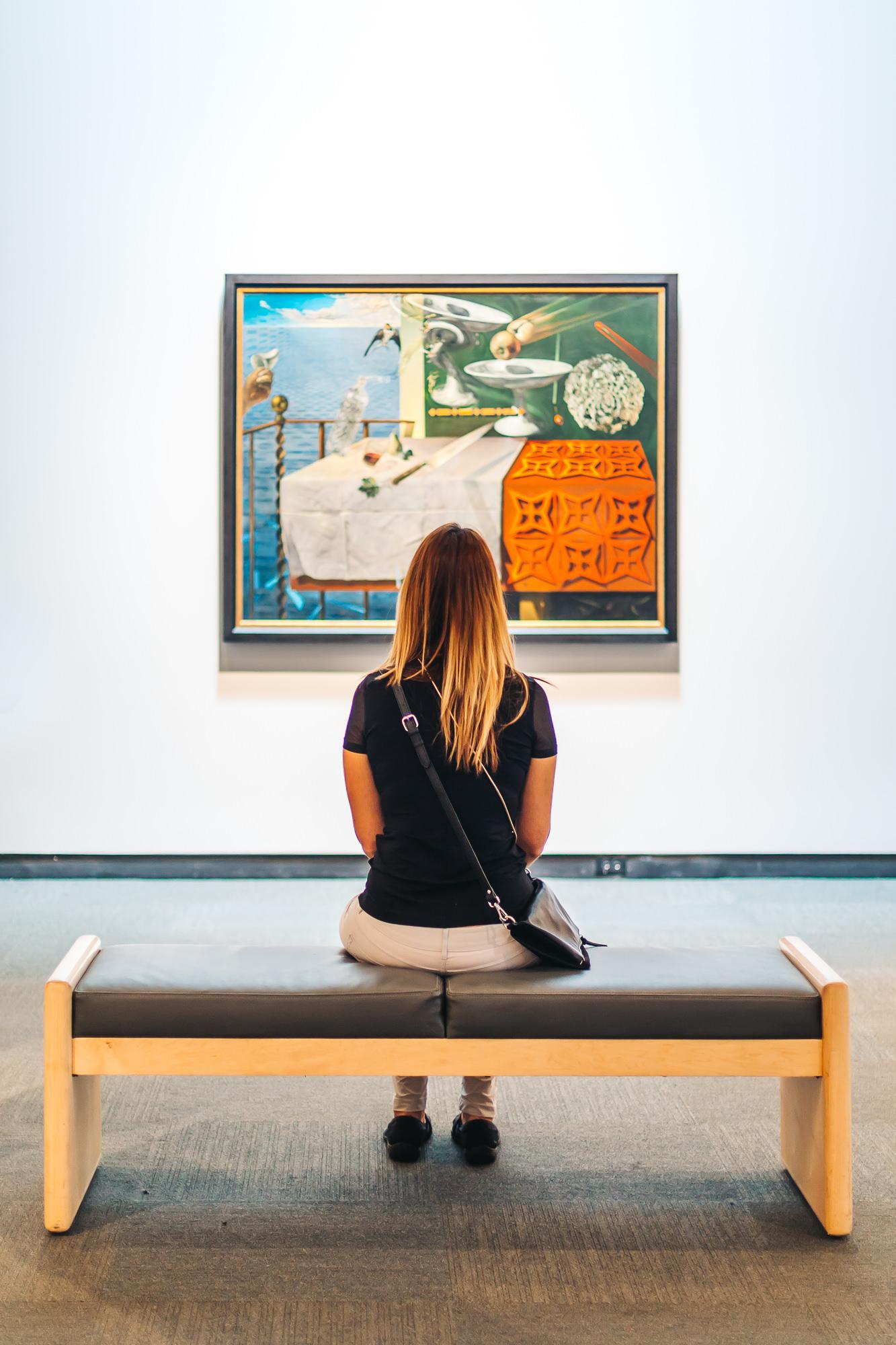 Dali Museum painting