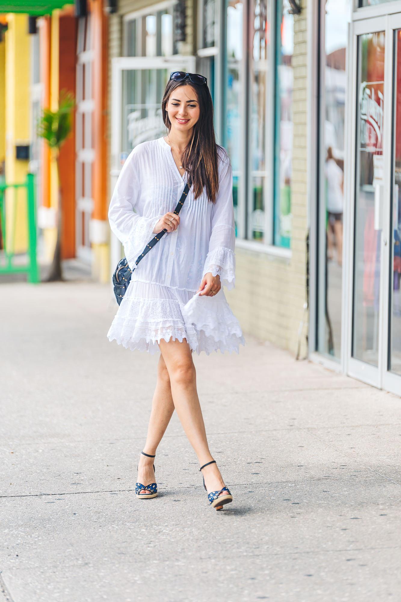 Amita Naithani Dress   //   Seychelles Sandals
