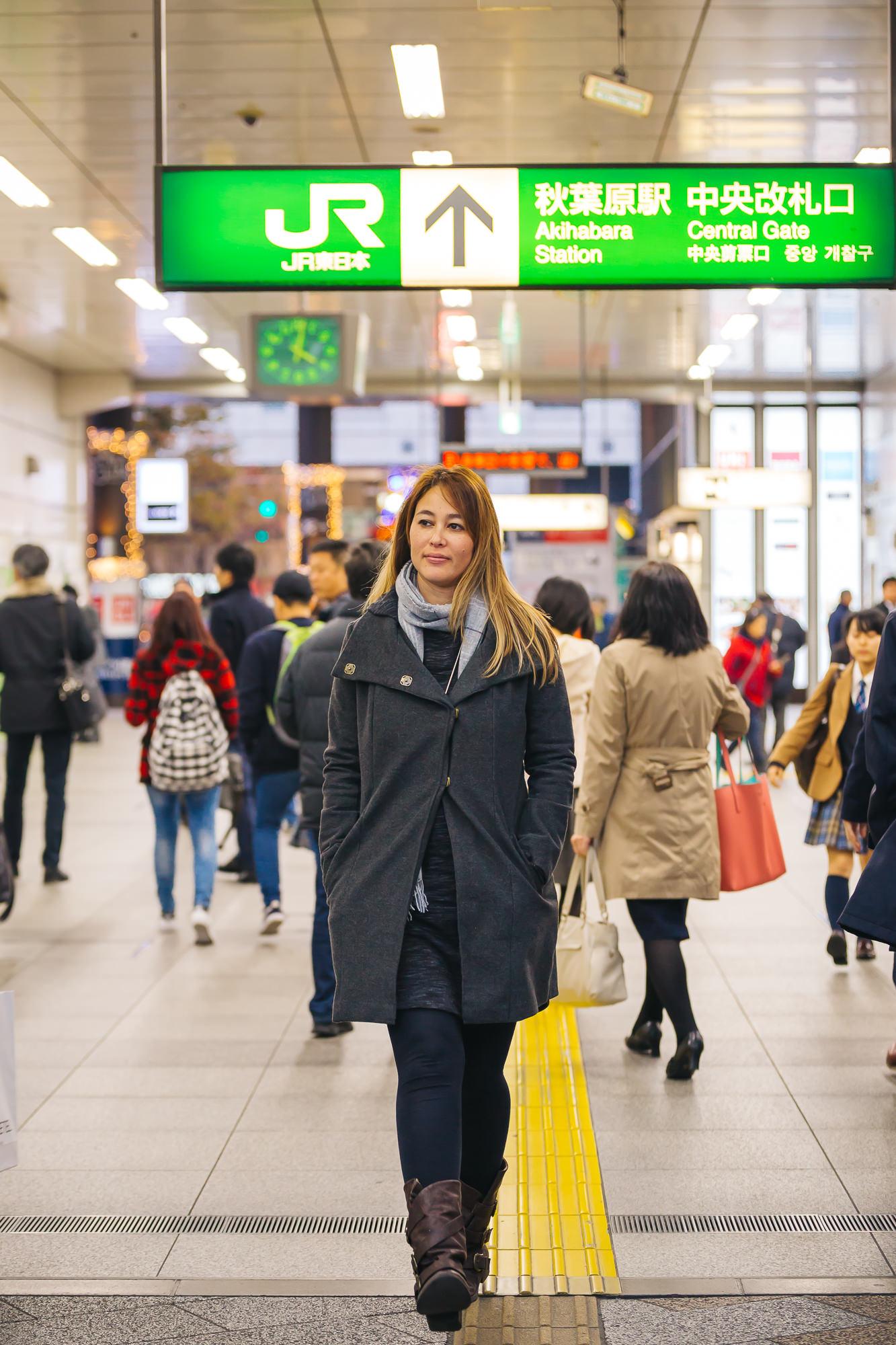 Akihabara Station, Japan.