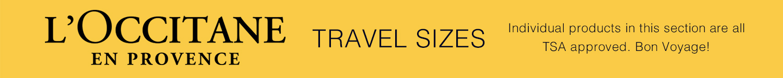 L'Occitane Travel Products
