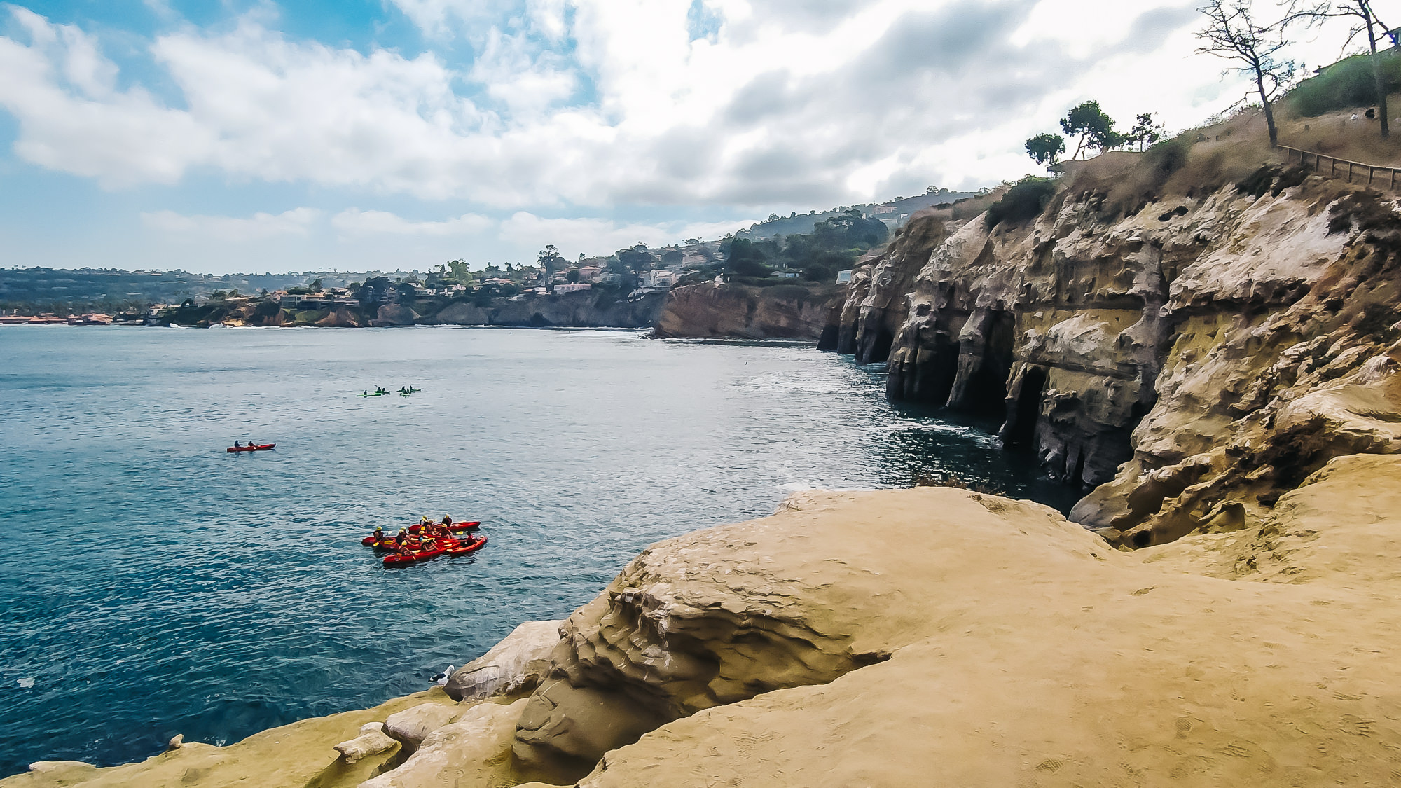 THE SEVEN CAVES IN LA JOLLA, CALIFORNIA